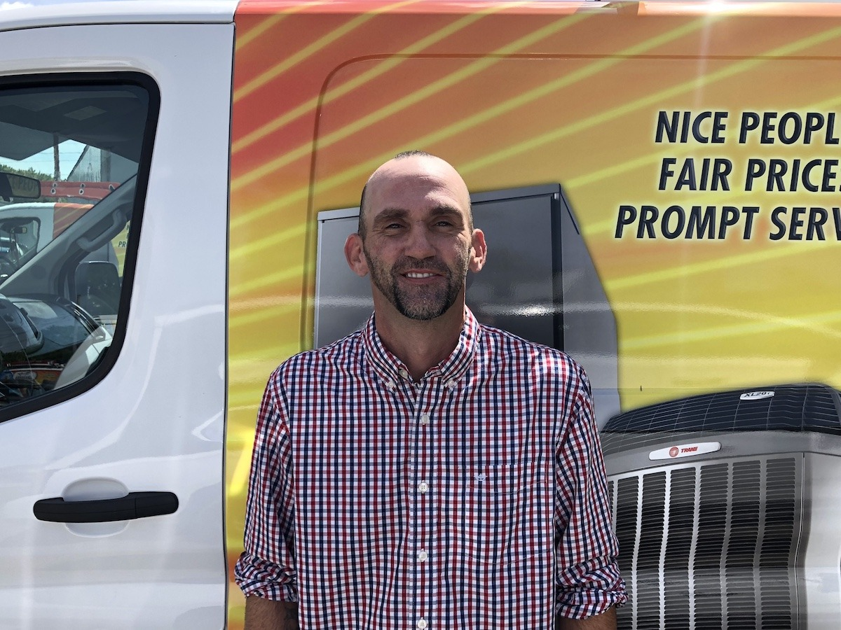 Michael Simmons, Comfort Advisor